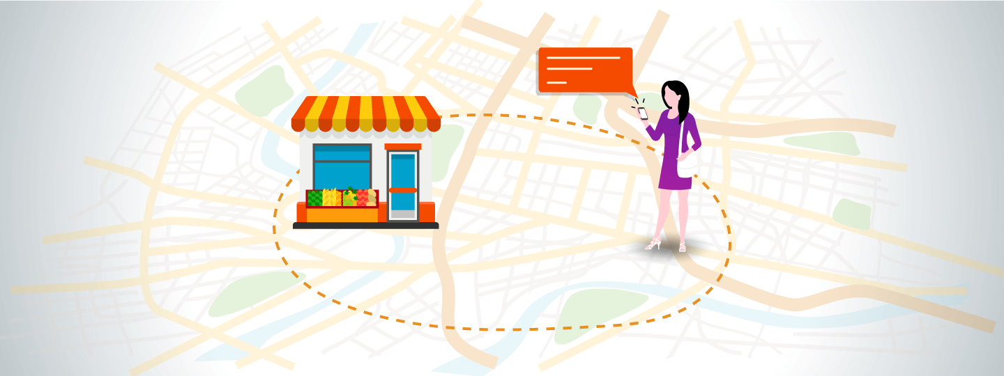 Geofencing for local business